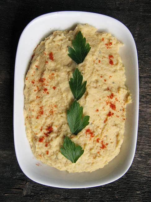 Avinžirnių pasta - Hummus