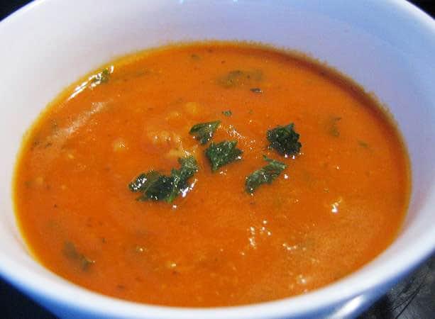 Bulvių Košė Blog Archive Trinta Pomidorinė Sriuba Su Perlinėmis