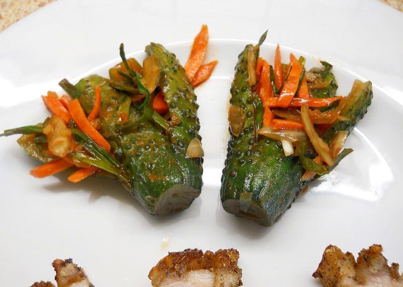 Agurkų kimči (kimchi)