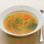 Vištienos sultinio sriuba su ryžiais