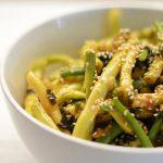 Šparaginės pupelės kiniškai