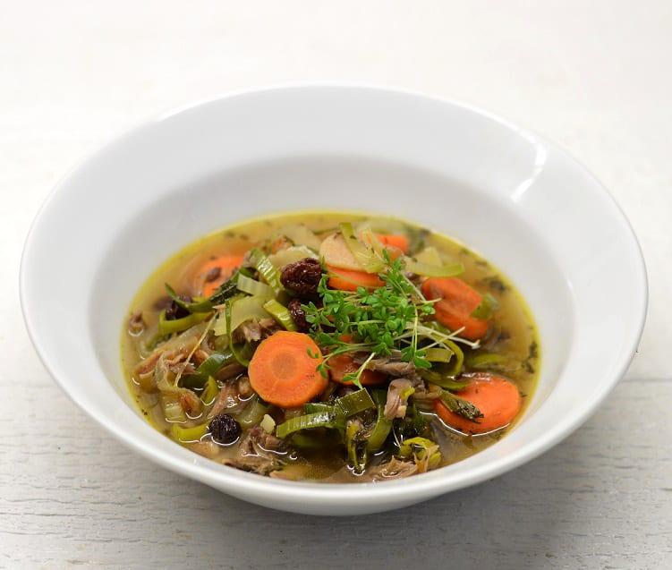 Tiršta antienos sriuba